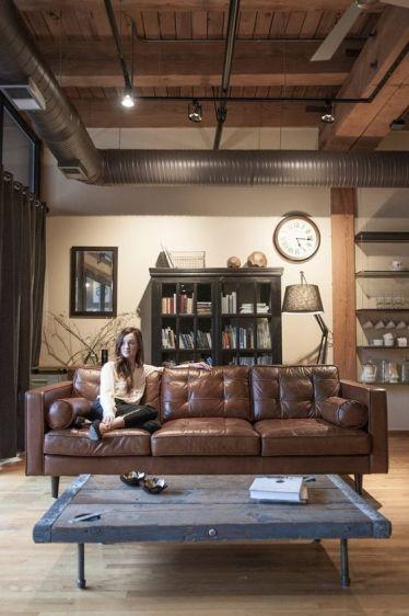 Leather lounge 2