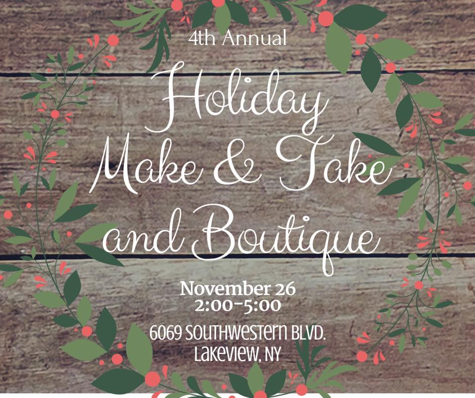 4th Annual Holiday Boutique and Make & Take