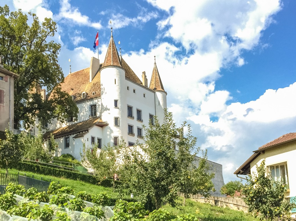 Nyon Castle in Vaud, Switzerland.
