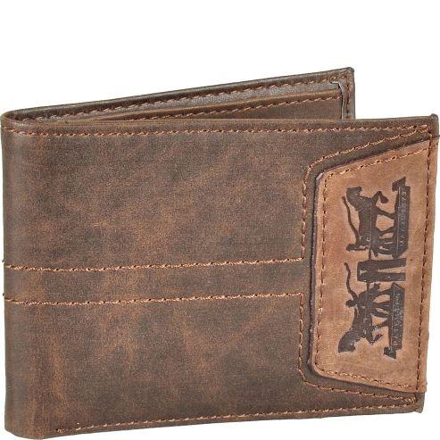levi's portofel maro piele original
