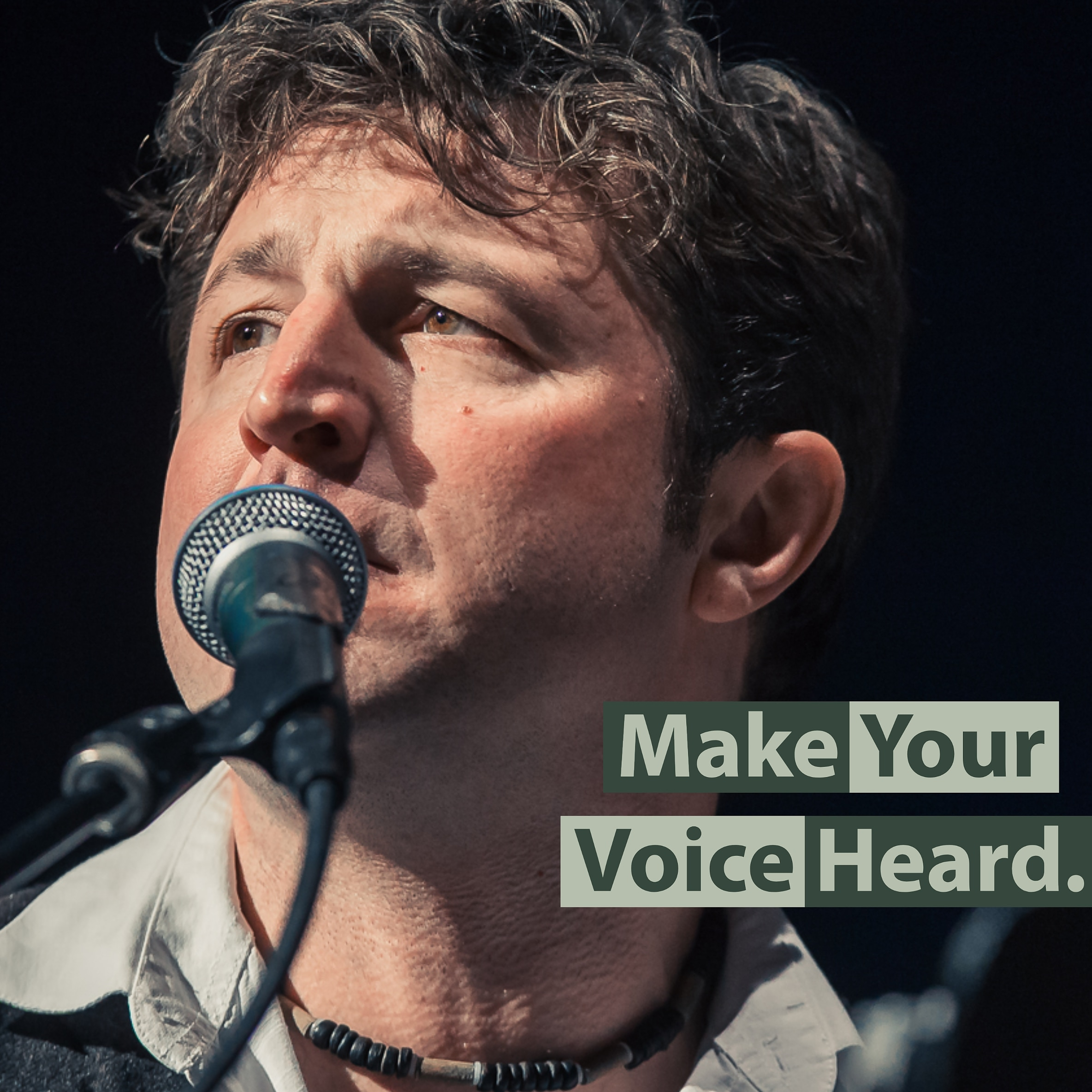 Make your voice heard.