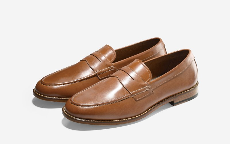 SP15_Cole Haan + Todd Snyder_Willet Penny Loafer_British Tan