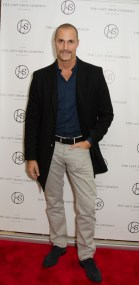Nigel Barker at the Left Shoe company NYC Pop-Up Opening Celebration