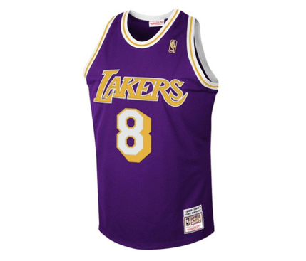 on sale f1bbb 04917 Mitchell & Ness | Los Angeles Lakers | Kobe Bryant | 1997 #8 | Authentic  Hardwood Classics Road Jersey | Purple | Gent's & G's