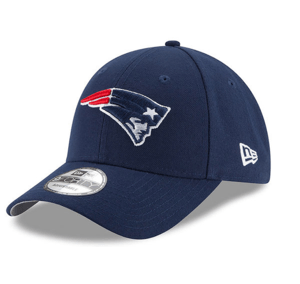 New England Patriots New Era Navy Super Bowl LII Side Patch League 9FORTY Adjustable Hat