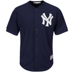 New York Yankees Majestic Navy Cool Base Team Jersey