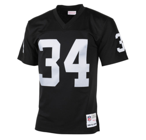 quality design 548bf 1dcd2 Mitchell & Ness | Oakland Raiders | Bo Jackson | 1988 Retired Player |  Vintage Replica | Black