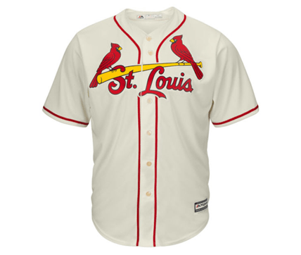 best loved d9440 aa8ff Majestic | St. Louis Cardinals | Yadier Molina | Cool Base | Cream | Gent's  & G's