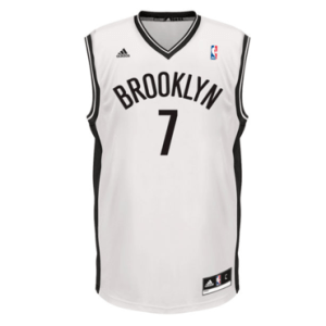 Brooklyn Nets Jeremy Lin adidas White Home Replica Jersey