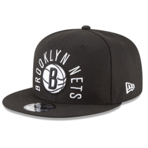 Brooklyn Nets New Era Black NBA City Series Original Fit 9FIFTY Snapback Adjustable Hat