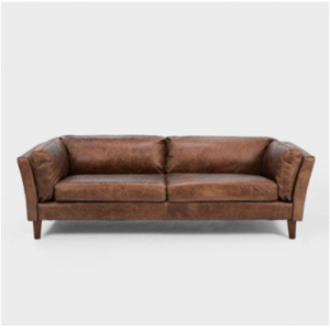 Gabriel Leather Sofa – Tan