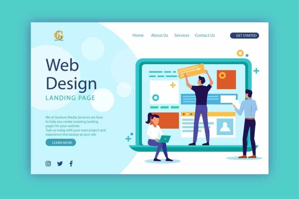 Web Design services by Gentum