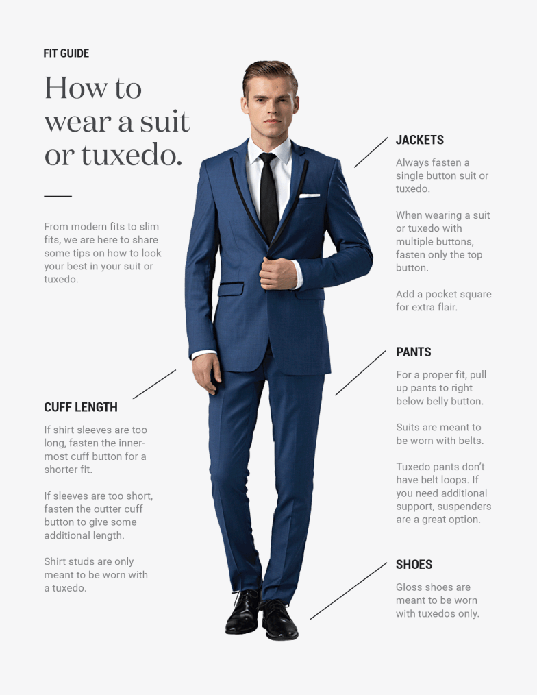 generation tux suit and tuxedo fit guide