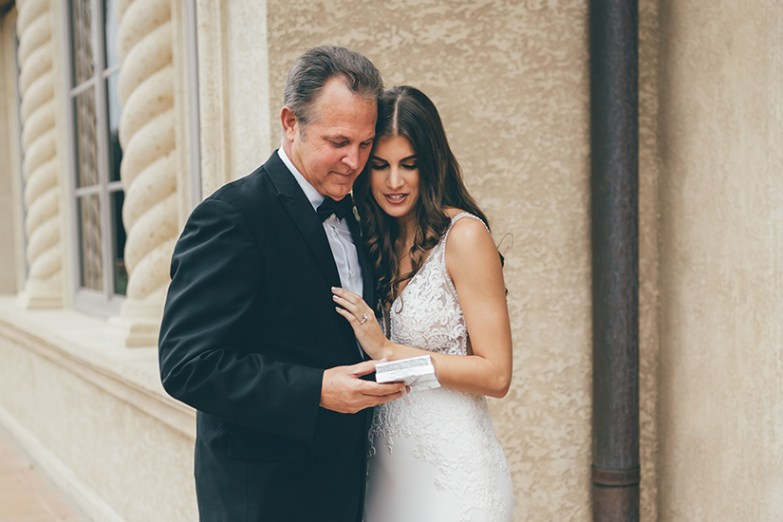 father in generation tux tuxedo with bride