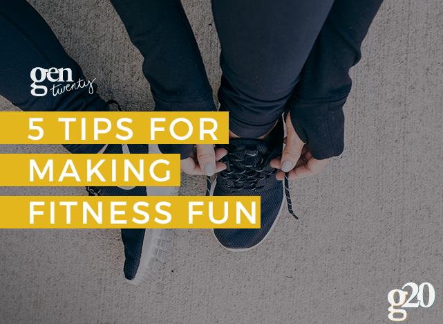 Do fitness your way! Getting into shape can actually be a fun time. Here are 5 tips! @lesmills #lesmillsondemand #ad  https://goo.gl/CECKaj