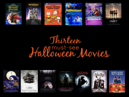 13 Must-See Halloween Movies