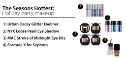 Hot makeup looks for the holidays