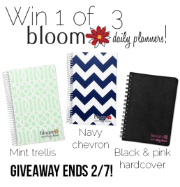Giveaway: Win One of Three Bloom Daily Planners! (CLOSED)