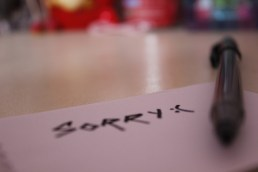 The art of apology: How to say you're sorry