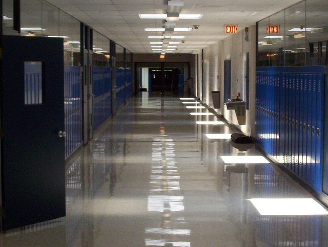 High school lockers