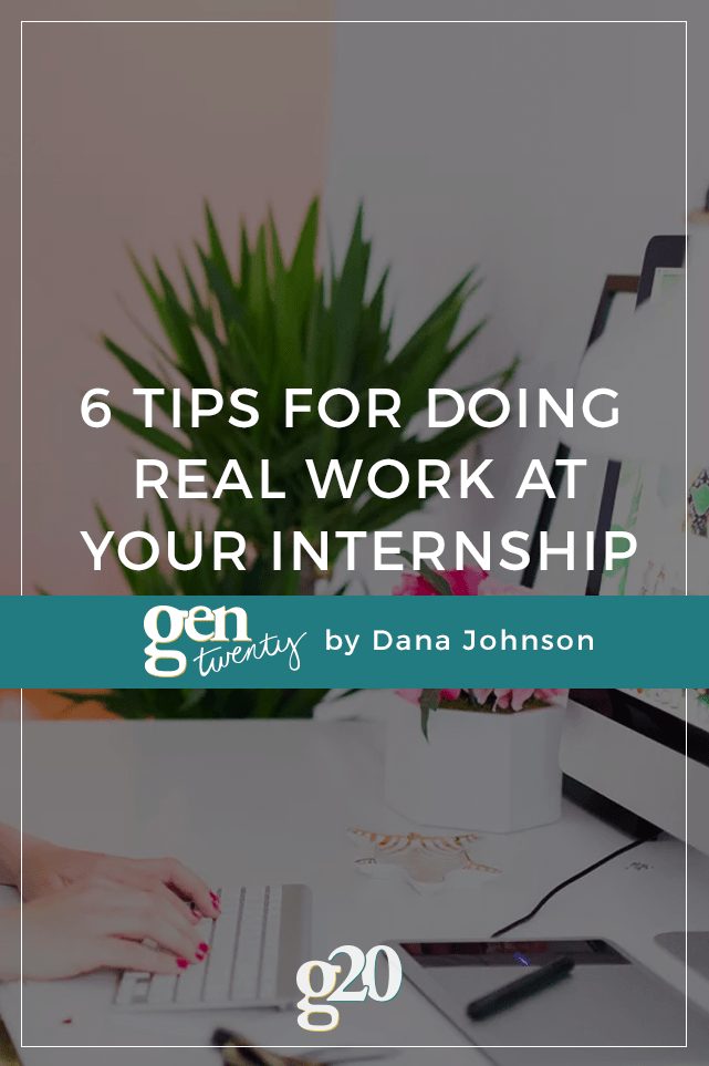 "Stuck pouring coffee and making copies at your internship? Try these 6 ways to get ""real work"" during your internship."