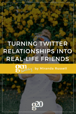 How To Turn Twitter Friends into IRL (In-Real-Life) Friends