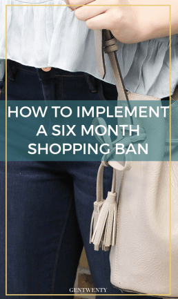 The Six Month Shopping Ban (And How It Jump Started My Path to Financial Freedom)