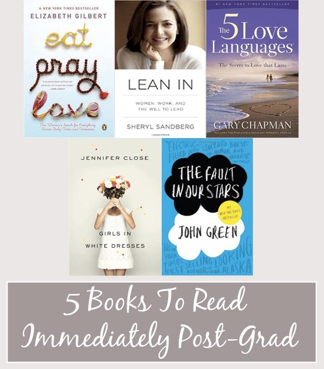5 Books Post-Grad