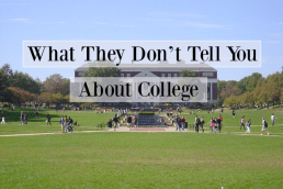 What Your Admissions Counselor Won't Tell You About College