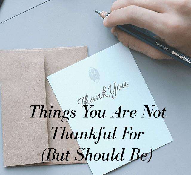 Not thankful