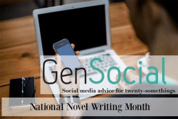 #GenSocial: Getting Involved in National Novel Writing Month (#NaNoWriMo)