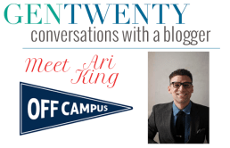 Conversations with a Blogger: Ari King of Off Campus