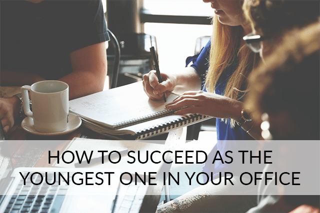 Being the youngest person at the office requires a good sense of balance. You need to be enough of a go-getter to defy the lazy millennial stereotype, but not so much of a yes-person that it looks like you're just sucking up to the managers.