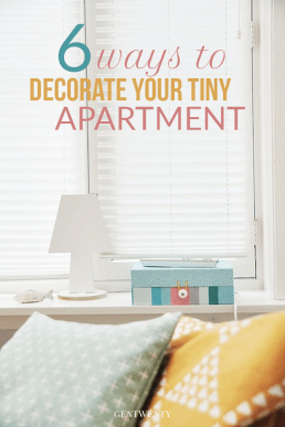 6 Ways To Decorate Your Teeny Tiny Apartment
