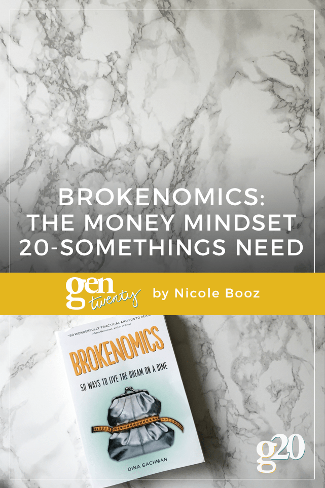 If you're worried about your finances (because hello, we aren't banking on social security checks), Brokenomics is the mindset you need to get your financial life in order.  Click through to read why.