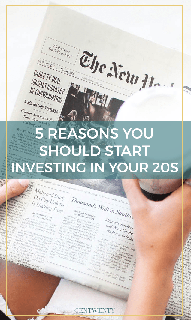 Are you skeptical about investing in the stock market at such a young age? Truth is, the stock market IS scary., but you have time on your side for your investments to thrive if you begin in your 20s.