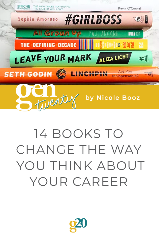 14 Books To Change The Way You Think About Your Career