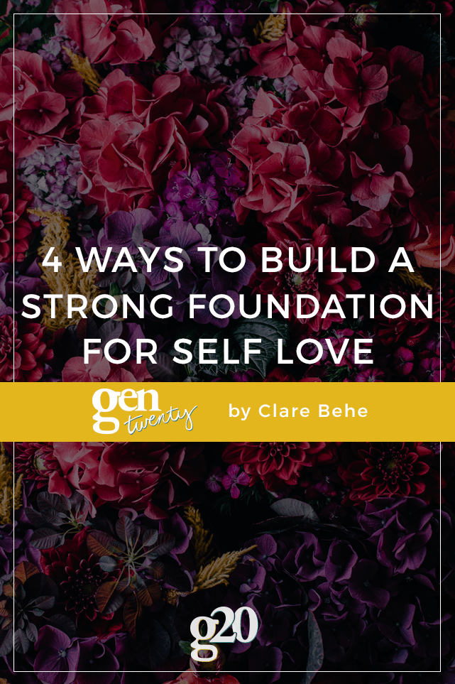 Self love starts on the inside. Build your foundation with these 4 rituals.