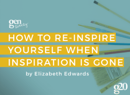 How to Re-inspire Yourself...When Inspiration is Gone