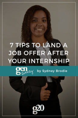7 Ways to Stand Out as an Intern