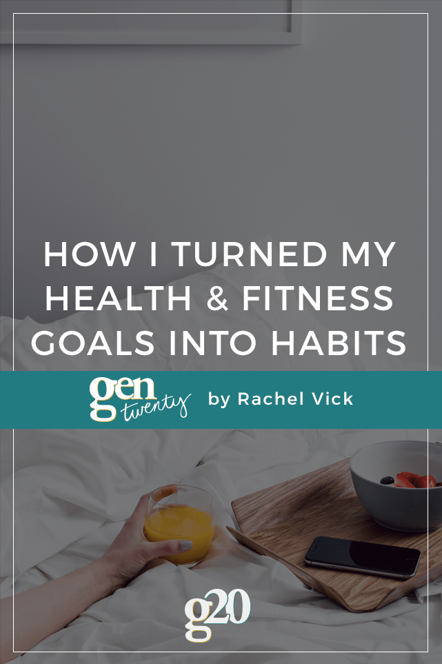 How do you create goals that actually stick around? Turn them into habits, of course! Here's how I turned my fitness, health, and language goals into daily habits.
