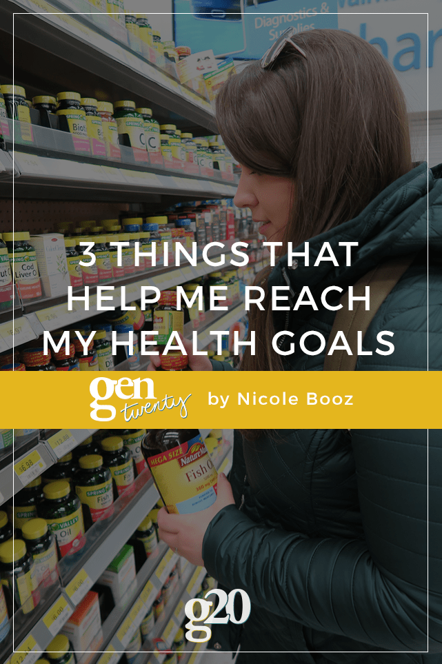 As I've gotten older, my health has become more and more important to me. Here are 3 things I started doing this year to help me reach my health goals. #NatureMade #IC #ad