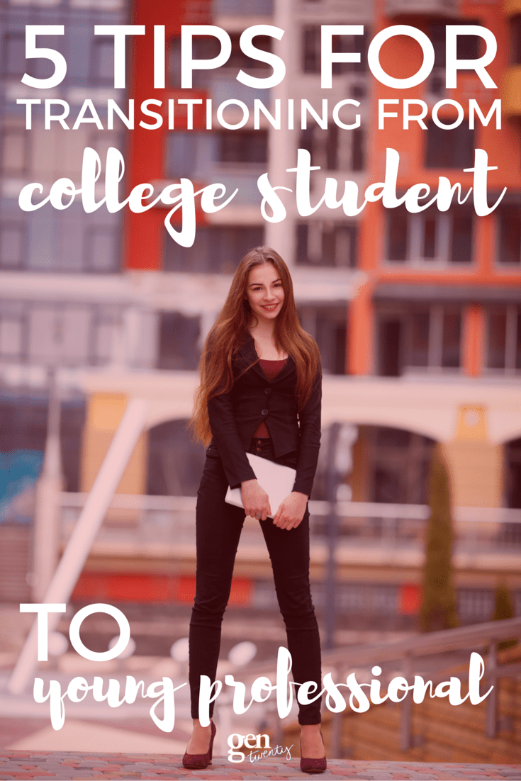 After graduation day, you'll have to make the transition from college student to young professional whether you're ready for it or not. I decided to be proactive about it instead of crying like I really wanted to. Here's how I set my career goals and established myself as a young professional.