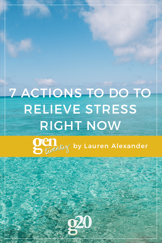 Some stress is normal, healthy even! But other times stress can leave us in tears. If you're on the teary-eyed end of the spectrum, test out these 7 things to relieve that stress and find your happy again.