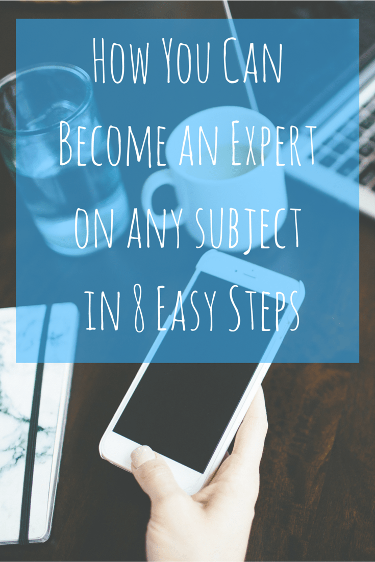 Experts aren't born with it, they've just followed these steps! And you can do it too.