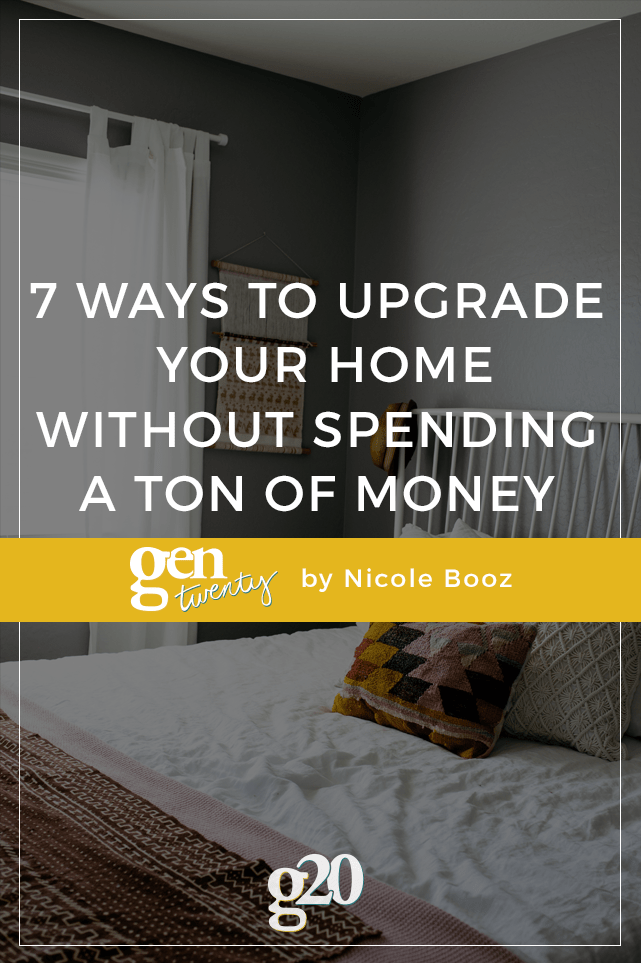 Need a little house rehab but don't have a big budget to work with? You can truly transform your space with these tips! (I wish I had done it sooner!)