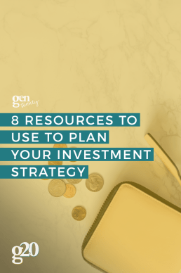 8 Resources To Use To Plan Your Investment Strategy