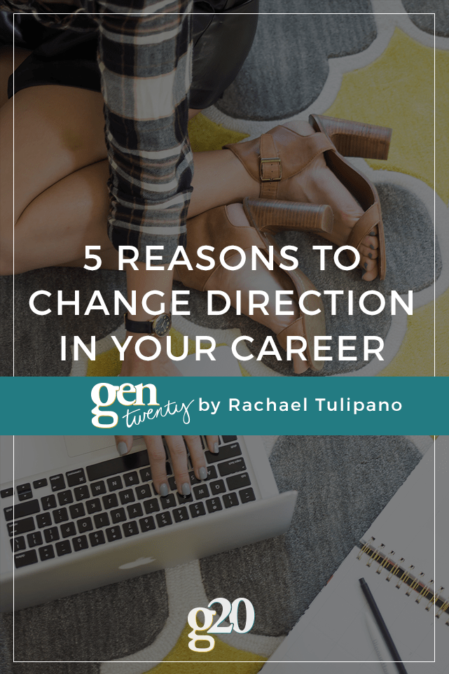 If you're regularly and consistently, feeling unmotivated, unchallenged, and unhappy--it's probably time to consider changing direction in your career.