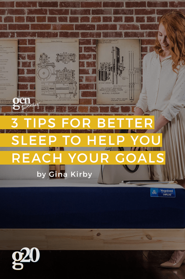 The lack of sleep affects us all, but is a good night's rest keeping you from reaching your goals?