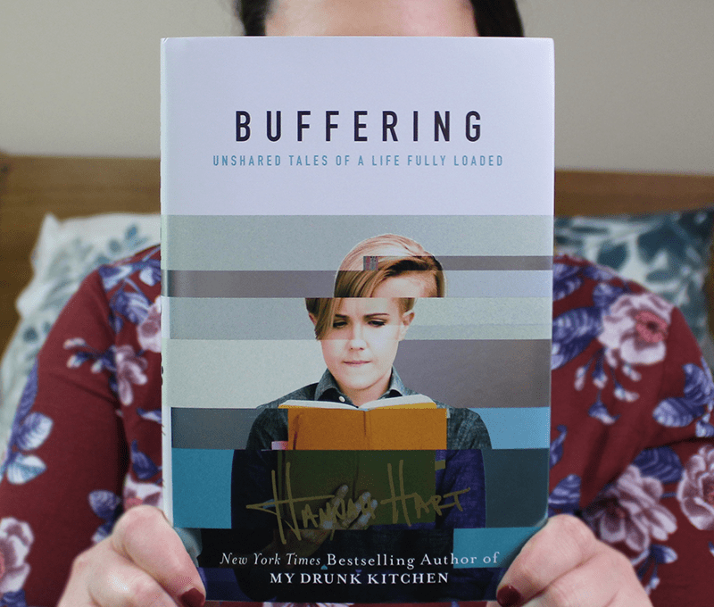 Hannah Hart discusses coming to terms with your identity with vulnerability, exposing herself and her past in a way that makes you love her that much more.